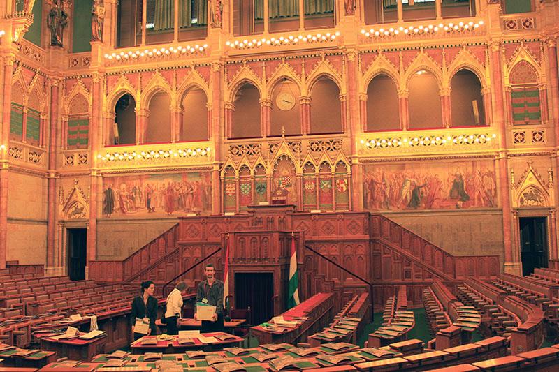 Parliament of Budapest VIP room interior design tour