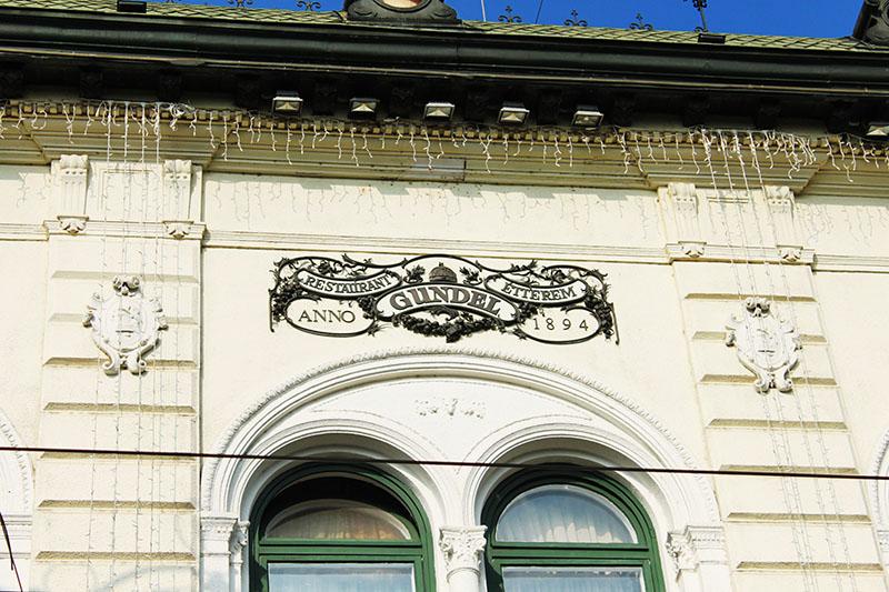 Gundel restaurant Budapest logo