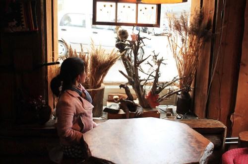 agirlnamedclara christmas finland lappi restaurant reindeer rustic design
