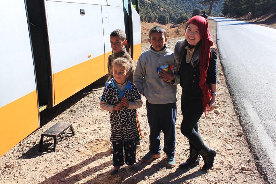 nomad children with female solo traveller agirlnamedclara