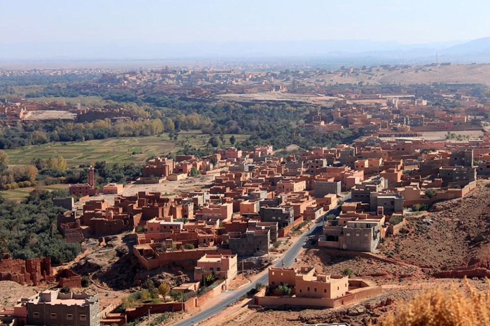 morocco valley of thousand kasbahs sunny day bright sky blue agirlnamedclara