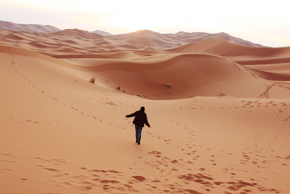 little asian girl getting lost wandering alone in sahara desert morocco agirlnamedclara