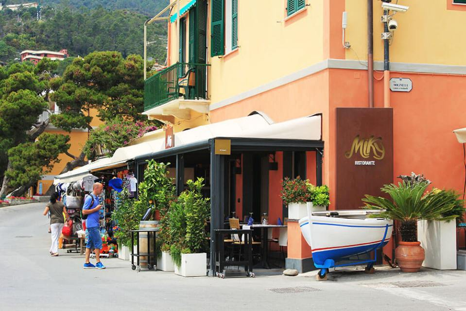 Ristorante Miky best restaurant Monterosso Cinque Terre Italy front view signboard agirlnamedclara