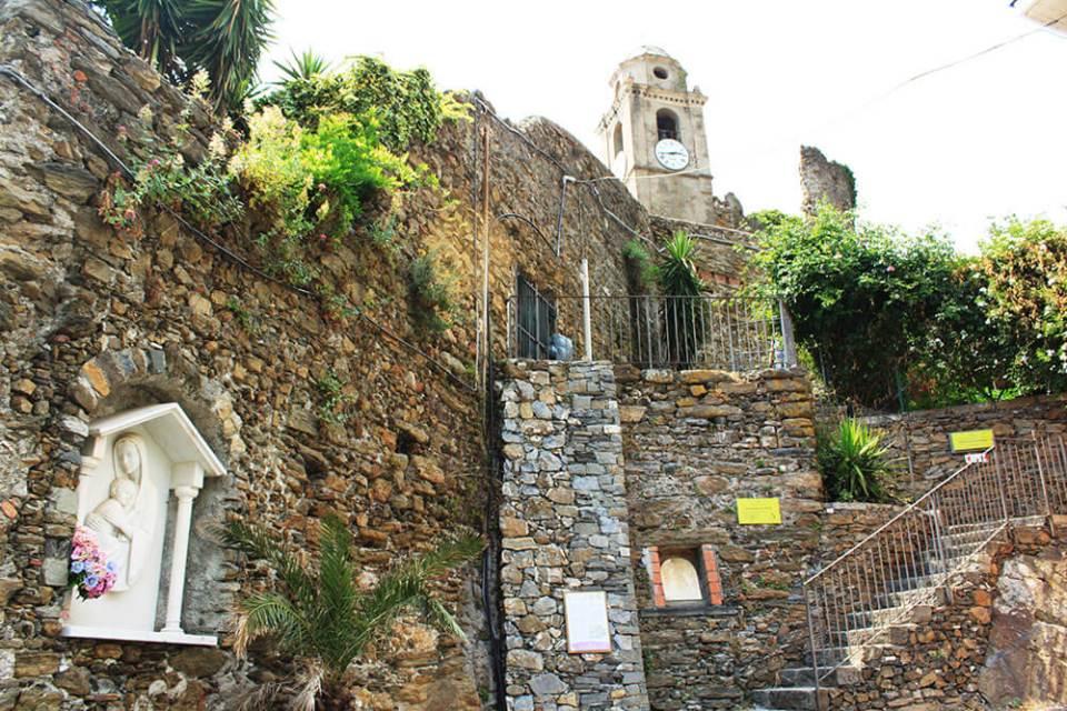 Santuario di Nostra Signora di Reggio Vernazza Cinque Terre Italy outer view agirlnamedclara