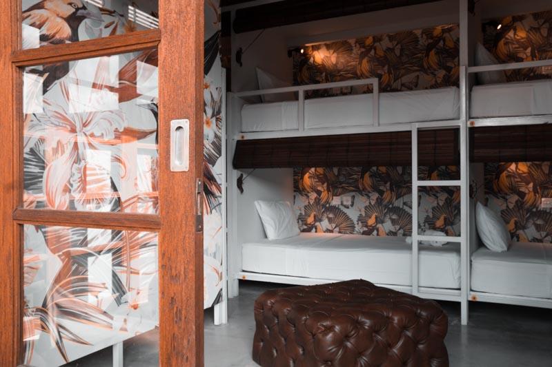 a guide to choosing a hostel seminyak bali socialista lifestyle hostel hemingway bedroom beautiful retro interior design agirlnamedclara