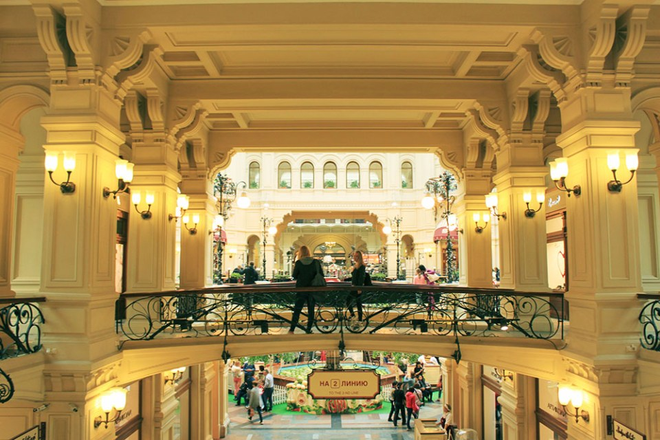 moscow russia beautiful shopping mall interior design agirlnamedclara