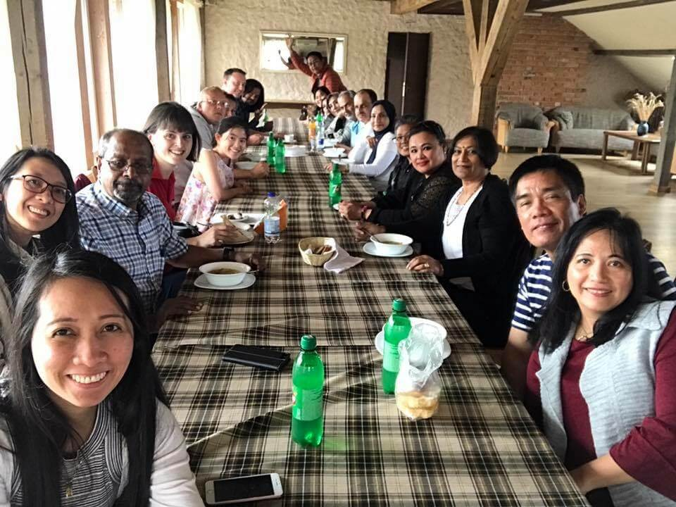 Expat Explore lunch group in Lithuania Northern Explorer_agirlnamedclara