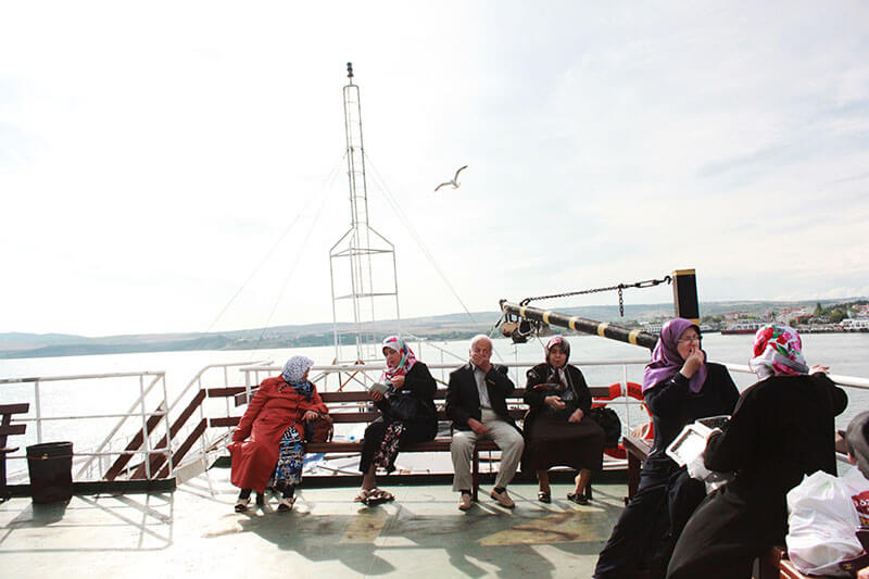 elderly sitting gathering on a boat marmara sea turkey_agirlnameclara