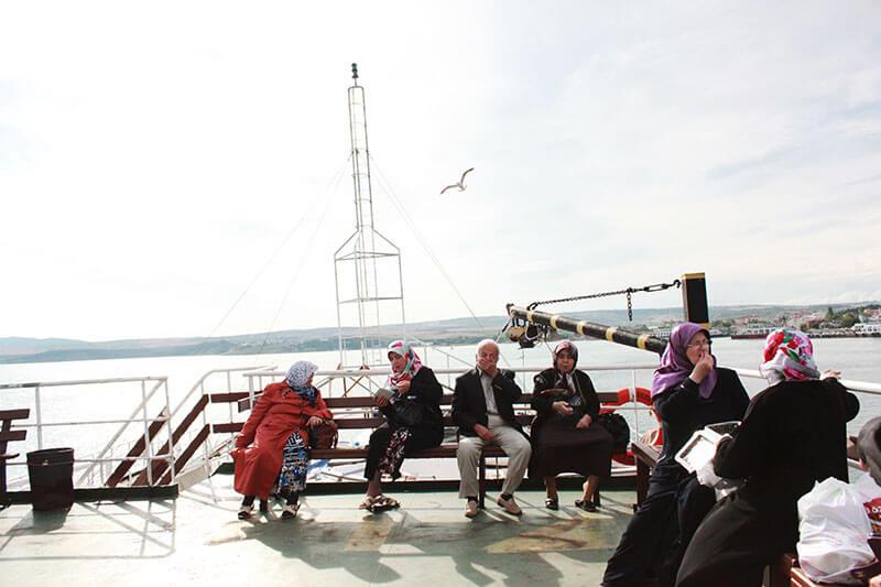 elderly sitting gathering on a boat marmara sea turkey_agirlnameclara