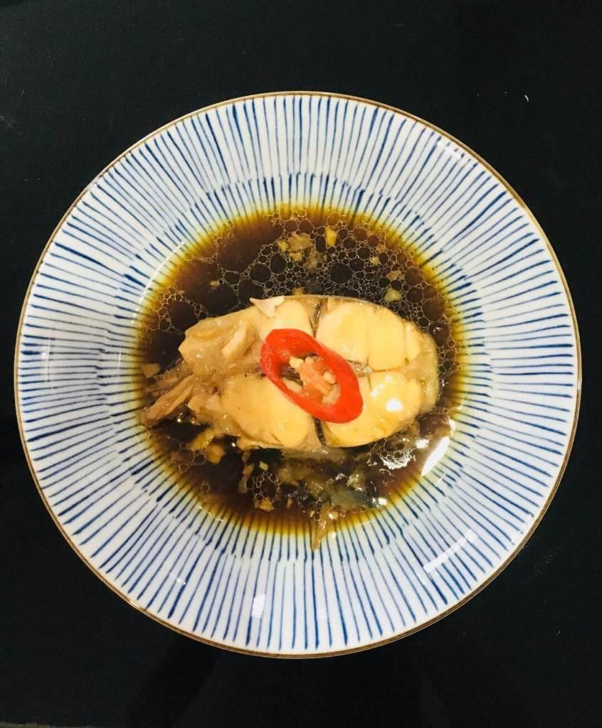 ikan patin rebus kecap jahe steamed silver catfish in ginger soy sauce_agirlnamedclara