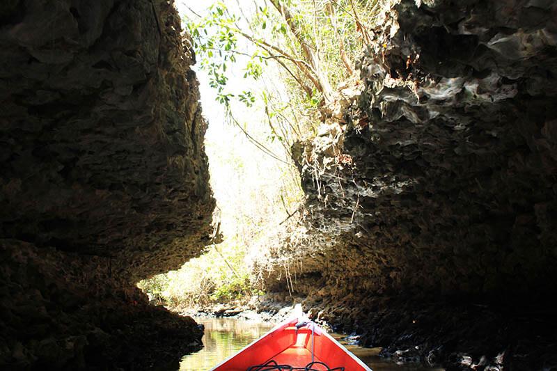 cave boat ride river karst rammang rammang makassar indonesia_agirlnamedclara