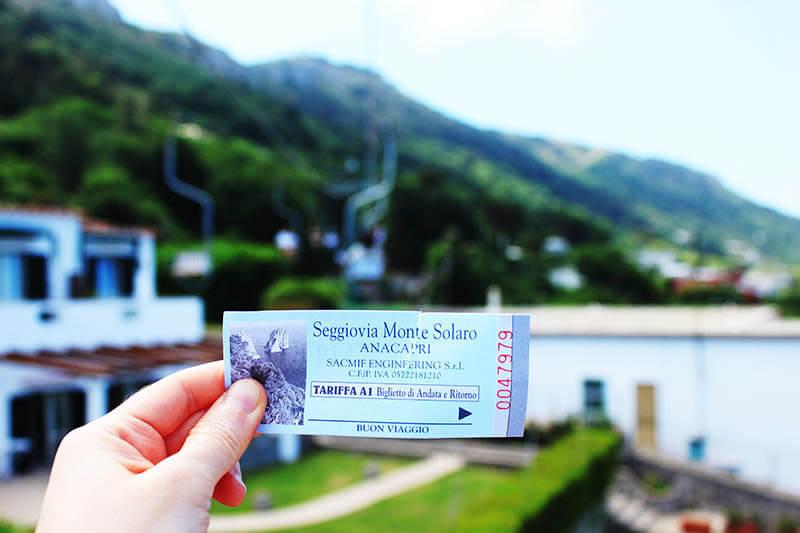 capri gondola ride ticket italy agirlnamedclara
