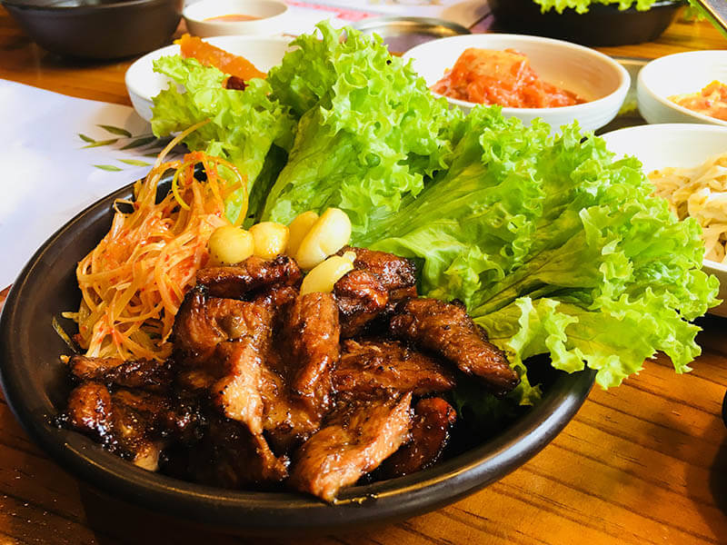 charcoal roasted meat bbq pork delicious yummy qing he gu set lunch korean food damansara uptown_agirlnamedclara