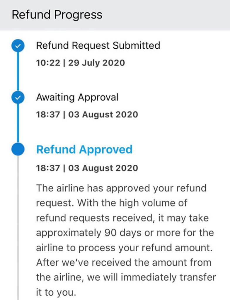 traveloka flight refund process_agirlnamedclara