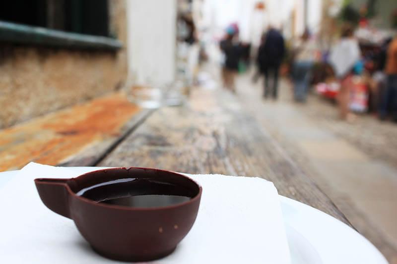 ginja dark chocolate obidos portugal agirlnamedclara