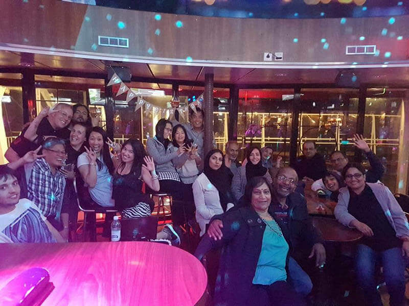 karaoke night on gabriella cruise birthday party expat explore agirlnamedclara