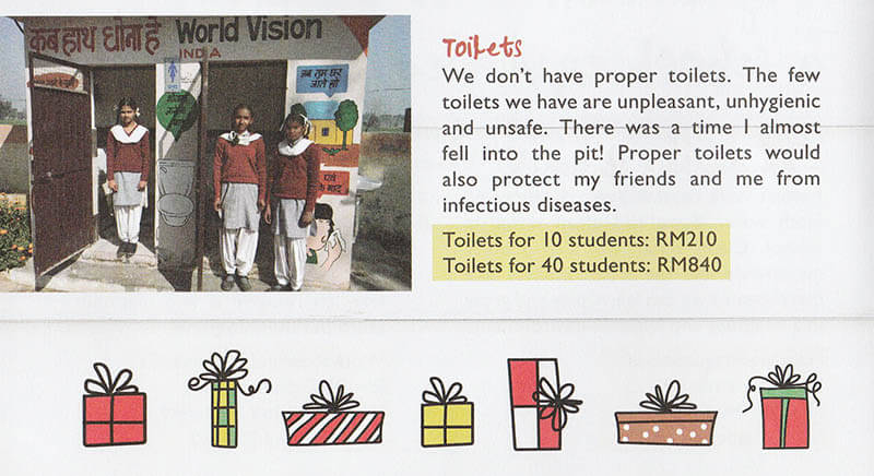 world vision gifts of hope toilets agirlnamedclara