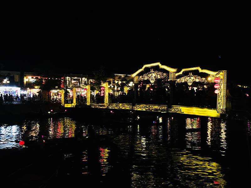 hoi an golden bridge night market agirlnamedclara