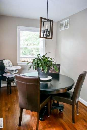 new dining room light