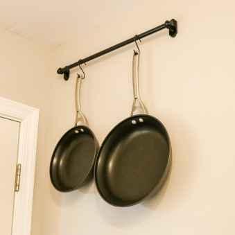 first pot rack installed