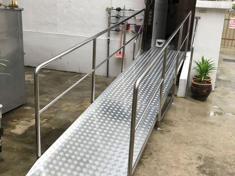 customised wheelchair ramp