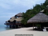 HUts at Pearl Farm, Malipano Is
