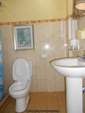 Private bathroom with hot shower! Yay!