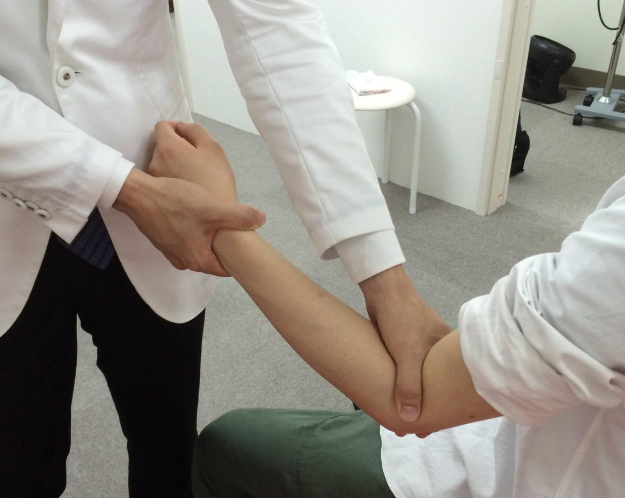 肘の検査と治療