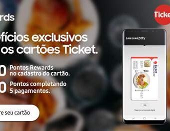 b1db6ec1c61 Samsung Pay disponibiliza benefício exclusivo para usuários dos cartões  Ticket