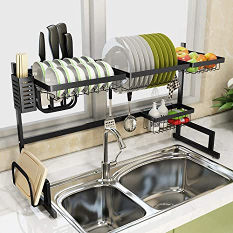 over the sink kitchen drainer