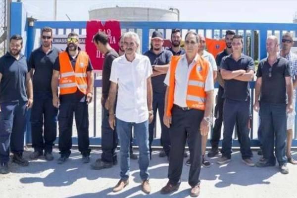 Νίκη για τους απεργούς στο Εργοστάσιο Αφαλάτωσης στην Επισκοπή