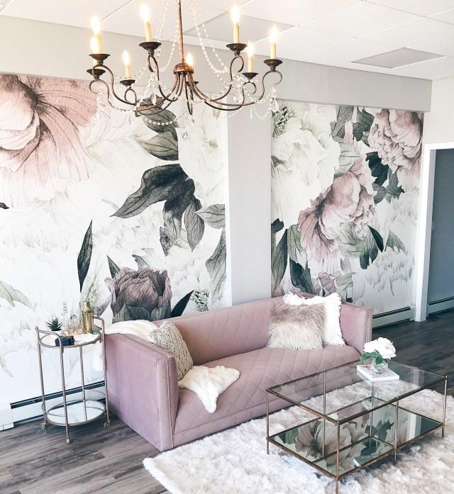 Floral Patterns - Interior Design Trends of 2019