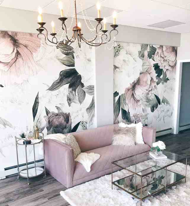 Floral Patterns - Interior Design Trends of 2019