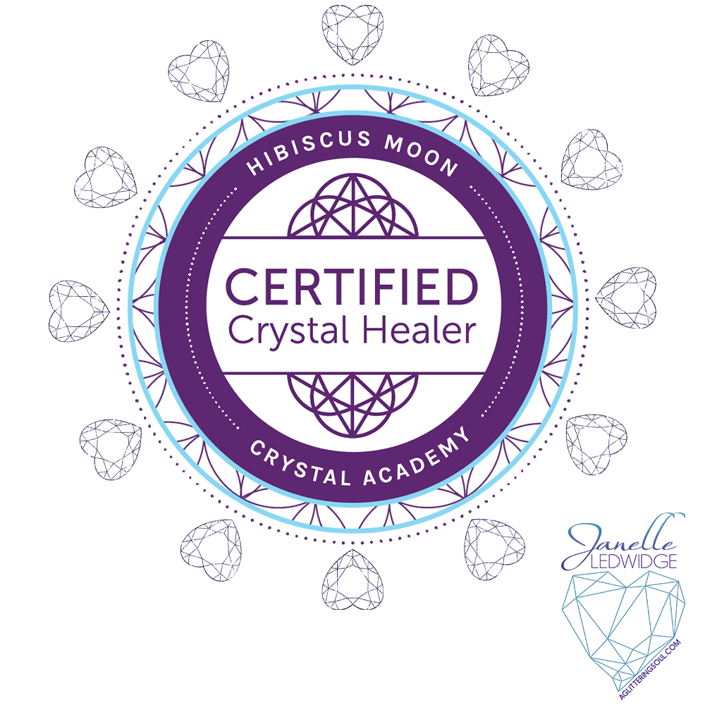 Im Now A Hibiscus Moon Certified Crystal Healer Cch A