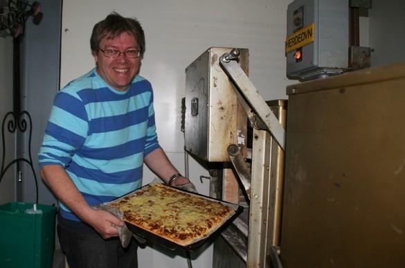Pizza-laging på TIP-vis