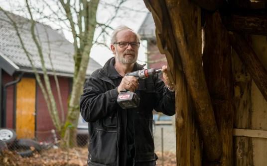 Neste helg er Harald pensjonist. Avslutter med lafting av gapahuker