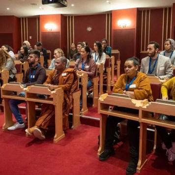 Aglo-elever på Stortinget