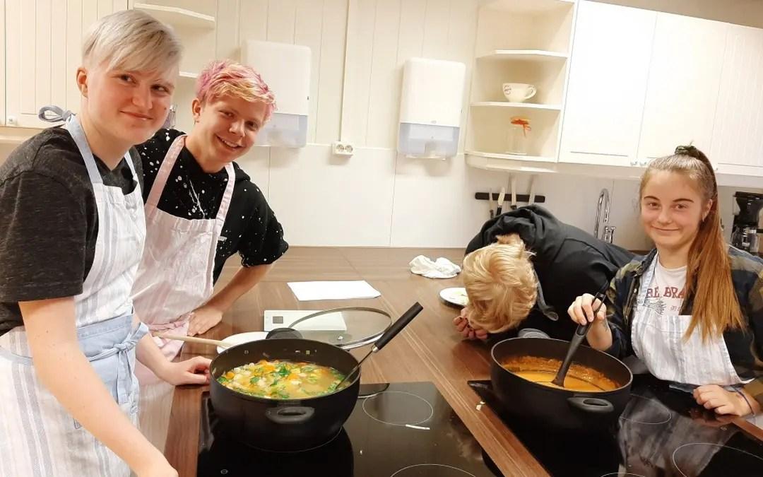 På suppekurs…, hos BUA