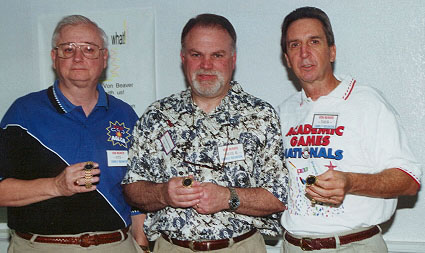 Jim Davis, Stu White, Larry Liss