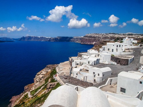 Santorini Caldera Greece