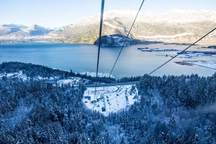 Sea to Sky Gondola Squamish Canada