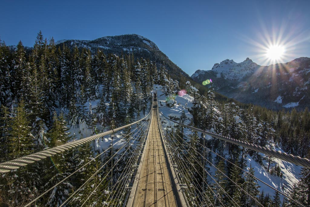 Sea to Sky Gondola Suspension Bridge