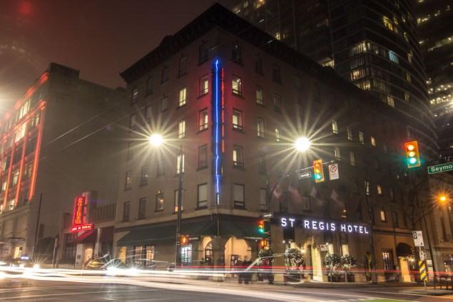 St. Regis Hotel Vancouver