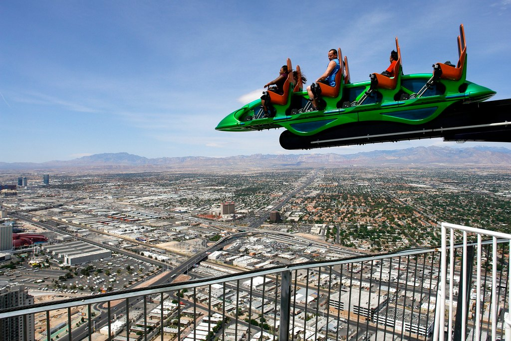 Stratosphere Las Vegas Ride