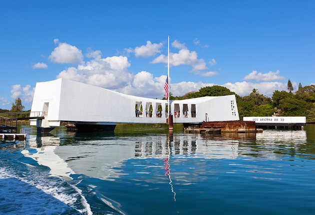 USS Arizona Pearl Harbor Hawaii