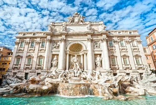 Trevi Fountain Italy Rome