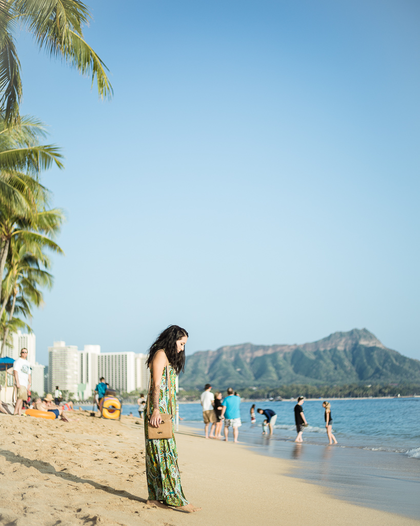 Waikiki Beach Diamond Head