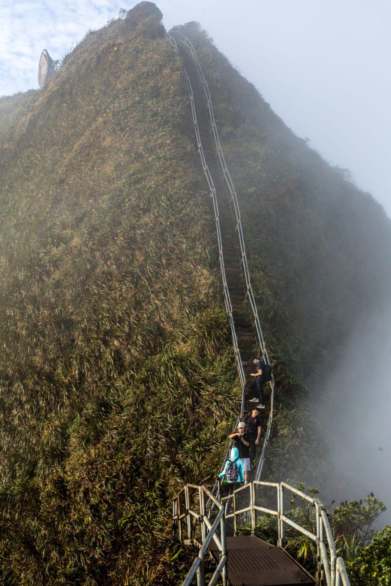 Haiku Stairs Hike Hawaii