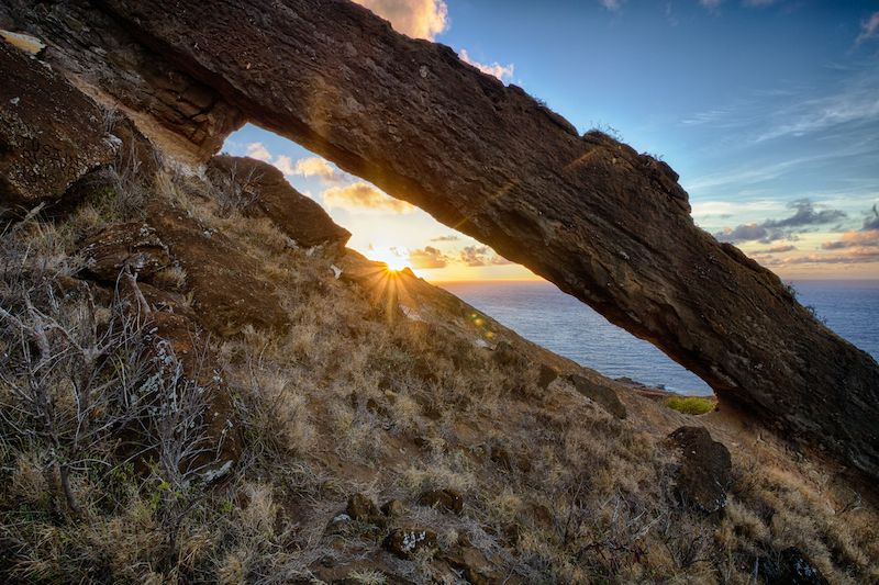Koko Crater Arch Hawaii