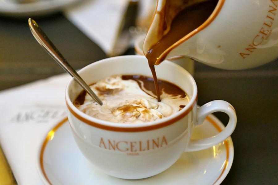 hot chocolate paris